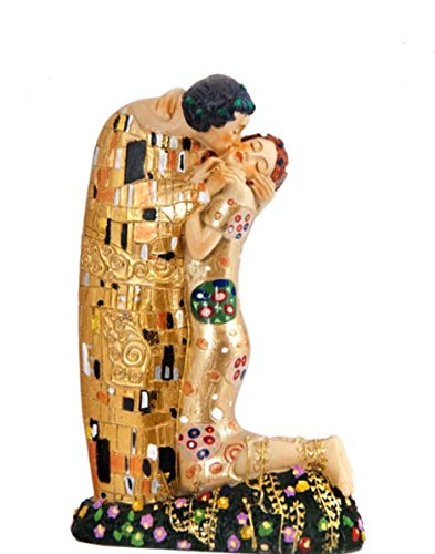 REGALOS LLUNA Figura EL Beso DE Gustaf Klimt (12_cm) Ref:6322