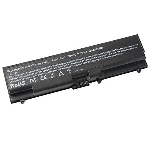 ARyee 5200mAh 11.1V T510 Batterie Laptop Akku Ersatz für Lenovo IBM Thinkpad Sl410 Sl510 T410 T410i T410 T510 T510 E520 Serie