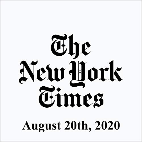 August 20, 2020 cover art