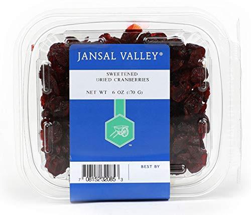 Jansal Valley Dried Cranberries 6 oz