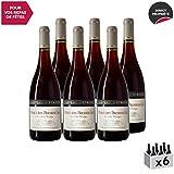 Mercurey 1er Cru Le Clos l'Evêque Rouge 2017 - Château d'Etroyes - Vin AOC Rouge de Bourgogne - Cépage Pinot Noir - Lot de 6x75cl
