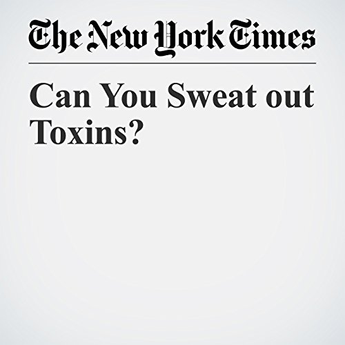 Can You Sweat out Toxins? copertina