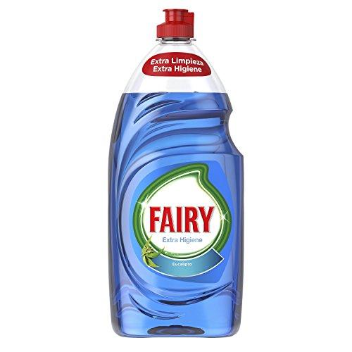 Fairy Extra hygiëne vloeistof voor vaatwasser Eucalyptus, 4 verpakkingen à 1015 ml, in totaal 4060 ml