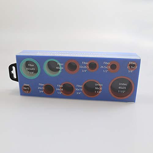 Universal Dichtungssortiment für Gas- und Wasserinstallation 1 Set (225 Teile) 1299070