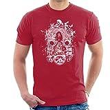 Cloud City 7 Borderlands 3 Mask of Mayhem White Print Men's T-Shirt