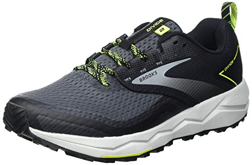 Brooks 1103551D029_44,5, Running Shoes Uomo, Grey, 44.5 EU