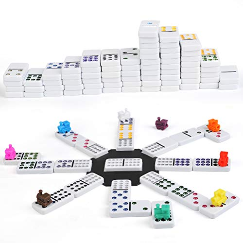 FOCCTS Mexican Train Domino Mexikanische Zug Dominosteine
