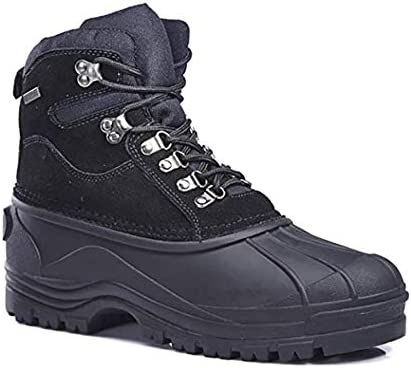 Labo Pro Men's Warm Winter Snow Boots Shoes Waterproof Insulated Lace UP