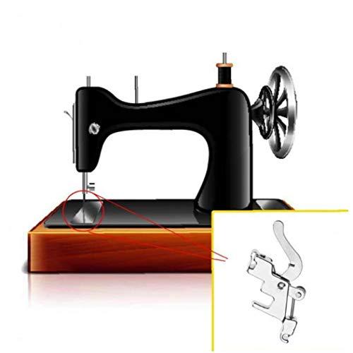 Herramientas Y Accesorios Soporte del Adaptador Inferior Pie Caña 1pc Máquina De Coser Prensatelas Baja La Caña Snap Adaptador del Vástago del Prensatelas Costura