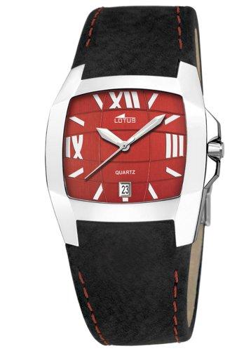 Lotus Shiny 15319-7 - Reloj de caballero de cuarzo con...