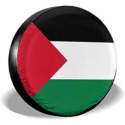 Beth-D Vlag van Palestina Waterdichte Reserveband Cover Past voor Trailer Rv Suv Truck Travel Trailer Accessoires 14-17inch
