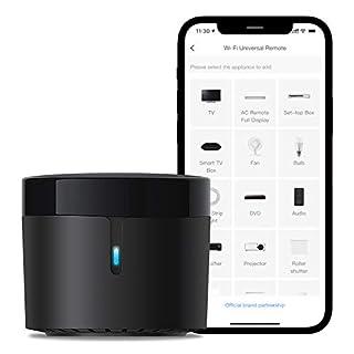 scheda broadlink - rm4 mini - telecomando universale ir audio/video, hub remoto wifi per la casa intelligente, compatibile con alexa (rm4 mini)