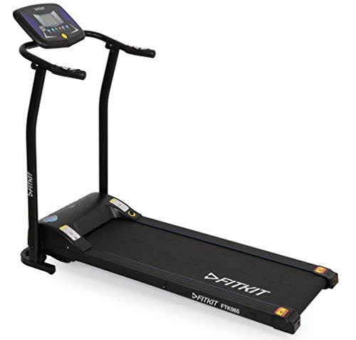 Fitkit FTK065 1.75 HP motorized 4-in-1 treadmill (free installation service)