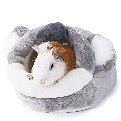 JanYoo Hámster cobaya, suministros para cama accesorios para casa de erizo jaula...