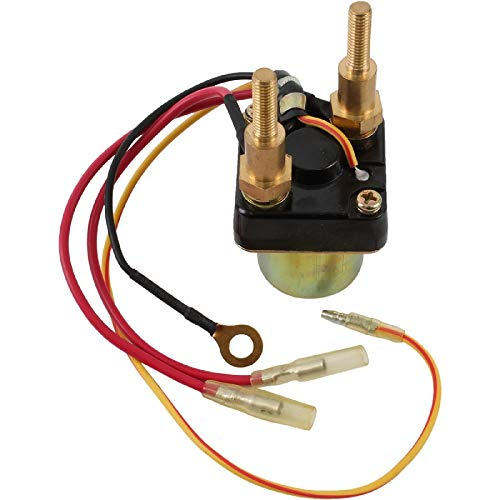 DB Electrical SMU6060 Starter Solenoid Relay Compatible With/Replacement For 440 550 JS440 JS550 SX Kawasaki Jet Ski 1986-1991 27010-3006, 27010-3007