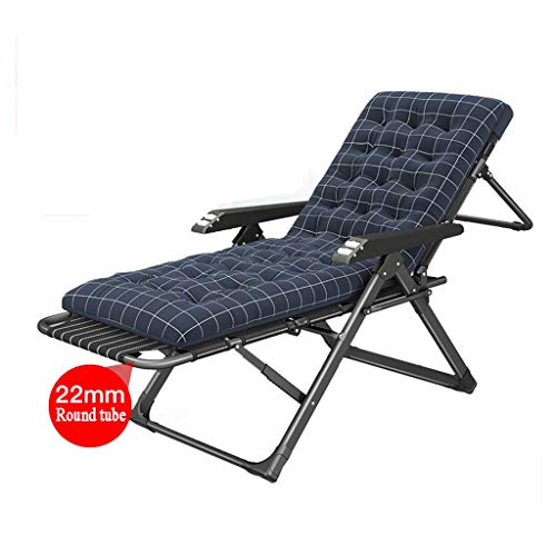 WYY Folding Reclining Chair Black Folding Zero Gravity Lawn Chair, Portable Adjustable Lounge Chair for Outdoor Camping Beach Fishing Sun Lounge Deck Chair Zero Gravity Chair Recliner,Lounge Chair
