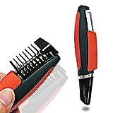 Haarschneider Male Shaver Grooming Remover Haarschneider 2 In 1 Schnurrbart Bart Augenbraue...