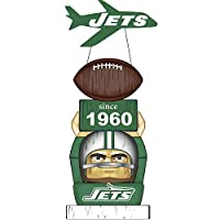 Team Sports America New York Jets Vintage NFL Tiki Totem Statue