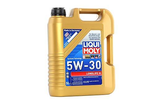 LIQUI MOLY 20647 Motoröl Longlife III 5W-30, 5 L