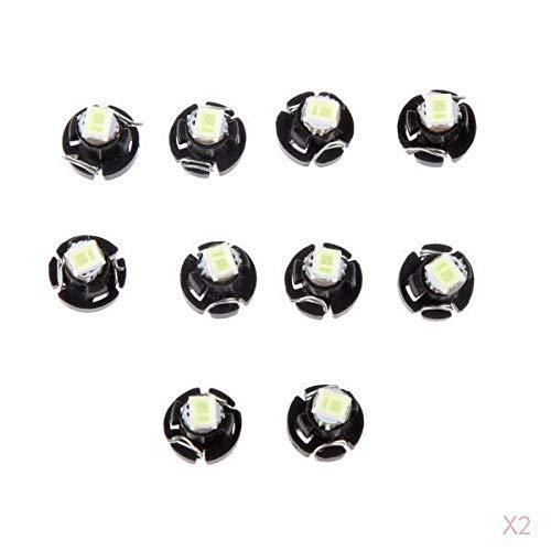 balikha 20x White Corner T3 Smd 5050 Lámpara de Bombillas LED