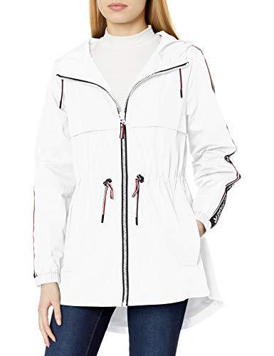 Tommy Hilfiger Women's Anorak Jacket, White, Medium