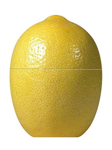 Fackelmann Contenitore Salvafreschezza per Conservare il Limone, Plastica, Giallo