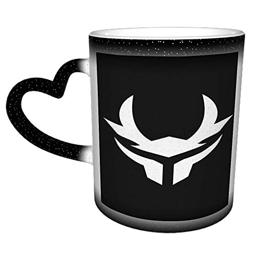 Einfache moderne Samurai Helm Logo Design F Kaffee Tee Wasser Tasse Keramikbecher...