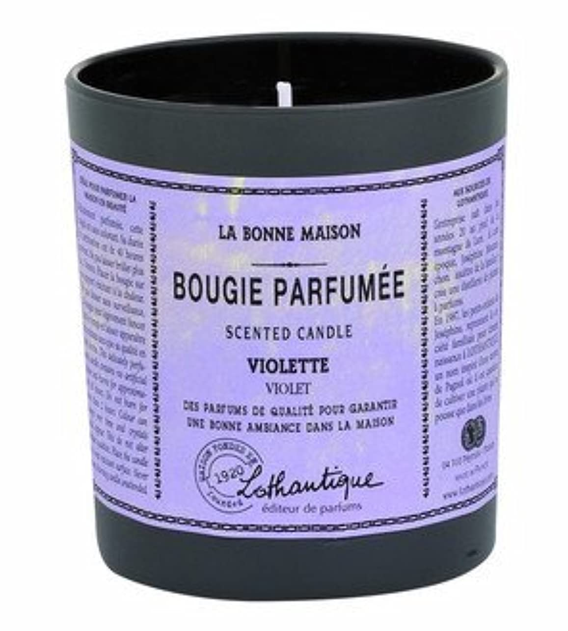 赤ちゃんポイントどうやらLothantique(ロタンティック) LES Bonne Maison(ボンメゾンシリーズ) グラスキャンドル 160g 「ホワイトティー」 3420070039446