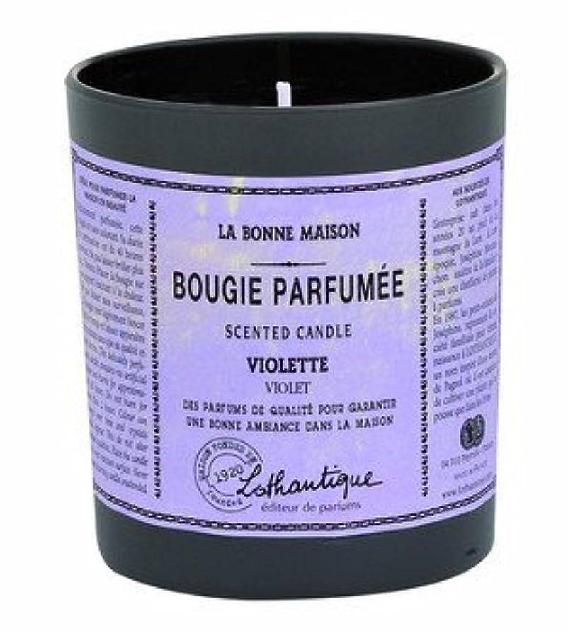 告発遺棄された許すLothantique(ロタンティック) LES Bonne Maison(ボンメゾンシリーズ) グラスキャンドル 160g 「ホワイトティー」 3420070039446