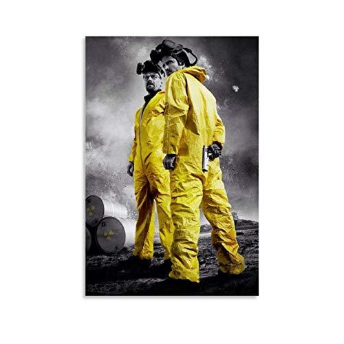 Stampa artistica su tela con film classico di Breaking Bad 19 poster e stampa artistica da parete, 30 x 45 cm