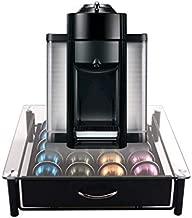 Vertuoline Capsules Storage, 20 or 40 Coffee Pod Holder Drawer, Space Saving