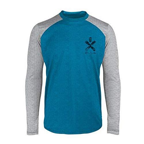Bula T-Shirt pour Homme Pacific Merino Wool Crew DSKY M
