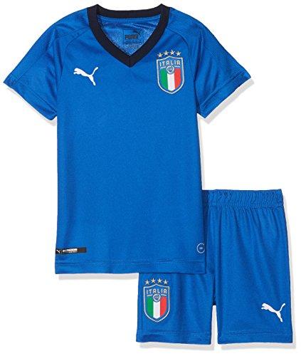 PUMA FIGC Italia Home Minikit Kit de Veste et Pantalon Enfant, Team Power Blue/Peacoat, 4 Ans (Taille Fabricant : 104)