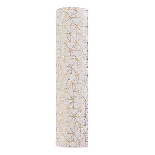 En mousseline individuelle métallique Gold Deco géométrique Aden + Anais