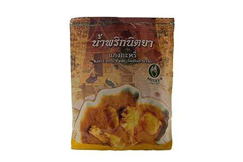 Nittaya Pasta de Curry Amarillo de Curry Tailandés Kari (1 x 1 kg)