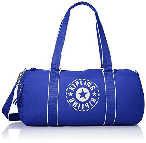 Kipling ONALO Bolsa de Viaje, 45 cm, 18 Liters, Azul (Laser Blue)