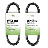 AppliaFit Heavy Duty ATV Drive Belt with Kevlar String Cord. Compatible with Polaris 3211149 for 2013-2019 Polaris Ranger XP 900, 900 Crew, 570 Sportsman and Ace Vehicles (2-Pack)