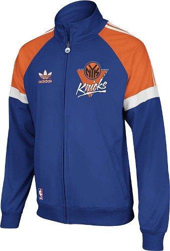 NBA New York Knicks Blue On-Court Track Jacket, Large image