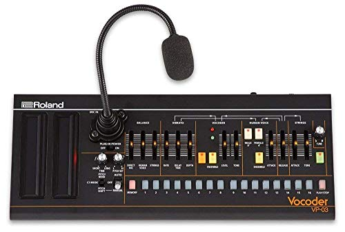 Roland VP-03 Boutique Series Portable Vocoder with Voice Step Sequencer and Built-in Gooseneck Mic