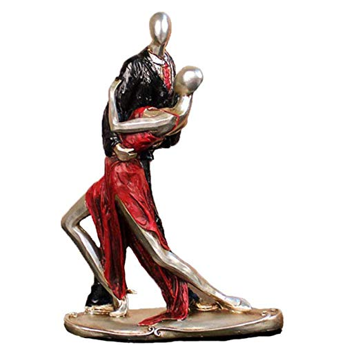 Ballerina Figurines Decoration Resin Table Ornaments,Ballet Dancing Men and Women,for Home Living Room Office Decoration