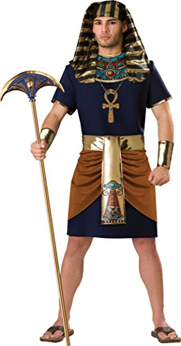 InCharacter Adult Mens Pharaoh Egyptian Costume X-Large