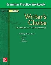 Writer's Choice Grammar Practice Workbook Grade 8