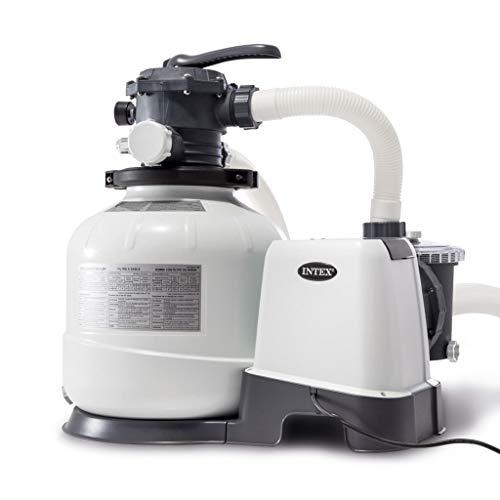 Intex 2800 GPH Filtre à Sable, Blanc