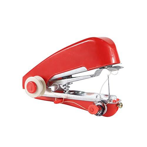 NHY Kleine Huishoudelijke Naaimachine Draagbare Mini Handleiding Eenvoudige bediening Gereedschap Doek Stof Handy Naaldwerk Gereedschap Licht en Handig