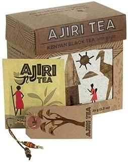 Ajira Kenyan Black Ginger Tea (20 Tea Bags)