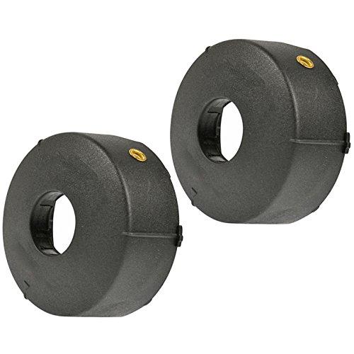 Tapas para bobina de hilo ProTap Spares2go para podadora de césped Bosch Art 23 26 30 Easytrim Combitrim (2 unidades)