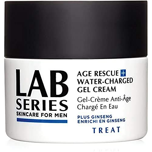 Lab Series Age Rescue Plus Water-Charged Gel Cream for Men, 0.14 Pound