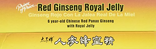 Thirty Prince of Peace Red Ginseng Royal Jelly Dietary Supplement Box