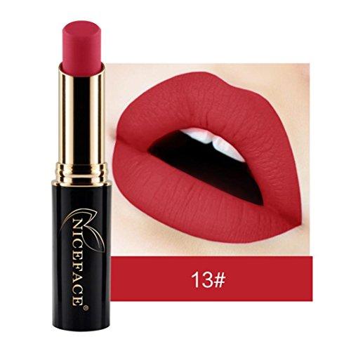 NICEFACE 24 nuances New LIP lingerie Matte rouge à lèvres liquide maquillage brillant à lèvres (13#)