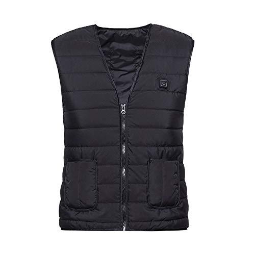 Verwarmd vest elektrische verwarming vest elektrisch thermische vest kleding, gemakkelijk verwarmde gilet wasbaar verwarmd vest USB oplaadbare verwarming lichaamsverwarmer